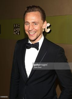 Actor Tom Hiddleston attends AMC Networks Emmy Party at BOA Steakhouse on…
