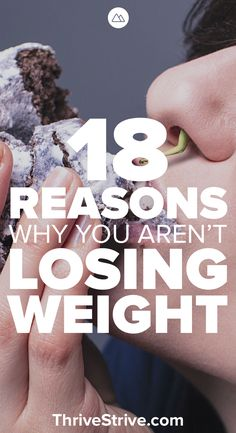 Trying to lose weight but nothing seems to be working? Odds are you are working against yourself. Here 18 common reasons why people don't lose weight quickly.
