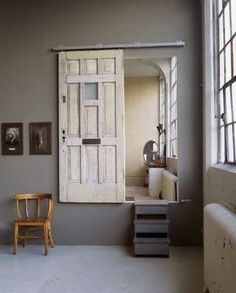 Dishfunctional Designs: New Takes On Old Doors: Salvaged Doors Repurposed by Hasenfeffer