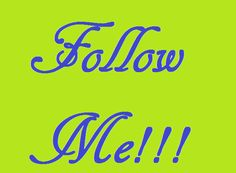 FOLLOW ME!!!!!! Trying to get to 600 by the end of this month so plz follow me and il follow back! xoxo~Jessica