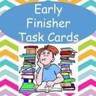"Pin for Back to School!  ""I'm done.  What can I do?""  You won't be hearing this with this set of 36 early finishers task cards.  This isn't just busy work.  These task card..."