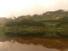 Love that our lochs (can) look like mirrors, only when the weather is nice though!