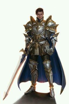 m Fighter Plate Armor Cloak Sword