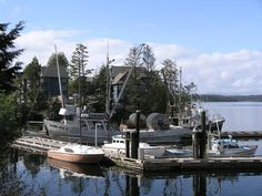 Ucluelet, Vancouver Island... Waters Edge Resort!