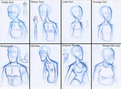 Body Shapes by Expression on deviantART