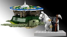 Do you want to see a Lego Discworld set?  It needs about 6,000 votes to advance in the process.