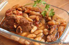 Recette Ragoût d'agneau aux haricots - La cuisine familiale : Un plat, Une recette
