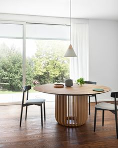 Shop the Juice Table and more contemporary furniture designs by Miniforms at Haute Living. Urban Interior Design, Modern Design, Dining Table Design, A Table, Dining Tables, Dining Room Furniture, Home Furniture, Wood Cladding, Door Accessories