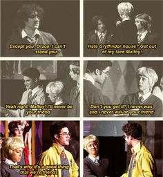 draco's face in the last one will always make me cry.I think it was Lauren reacting to the final moments of the show and no one can tell me different Harry Potter Musical, Harry Potter Universal, Harry Potter Fandom, Harry Potter Memes, Slytherin Pride, Hogwarts, Drarry, Dramione, Avpm