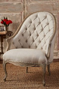 Chateau Pouget Tufted Chair from Soft Surroundings…