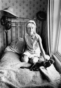 Julie a Christie, English actress and star of don't look now and cat lover.