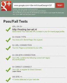 Google+  -- Google Plus Brand Page Audit Tool, is your Google Plus page fully setup and optimized? Find out!