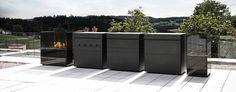 Hommage an die Großmeister der Minimal Art Minimal Art, Outdoor Kitchen Design, Outdoor Furniture, Outdoor Decor, Minimalism, Rock, Interior Design, Garden, Home Decor