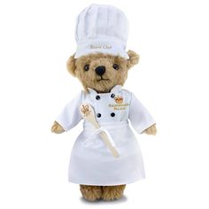 New to the Buckingham Palace Shop is our gorgeous new Limited Edition Chef Teddy Bear.