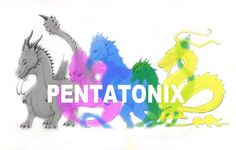 Pentatonix Album Cover Dragon-Style by vkdragonfire.