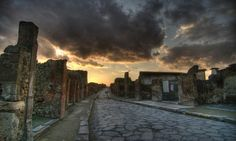 Pompeii, Italy Only had one day to see Pompeii so I ran through it like crazy! Loved every min of it!