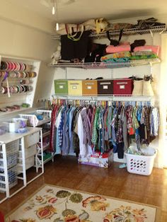 1000 ideas about family closet on pinterest closet for Large family laundry