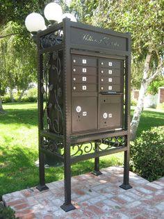decorative cluster box enclosures - Commercial Mailboxes