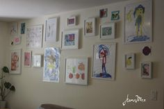Displaying & Organizing your Child's (art)work   June Mee