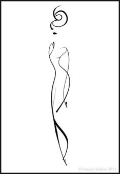 women haircut styles for medium length thick hair - Medium Style Haircuts Fashion Sketches, Art Sketches, Art Drawings, Silhouettes, Wire Art, Simple Lines, Minimalist Art, Rock Art, Line Drawing