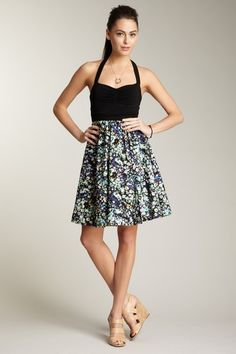 Super cute Reversible Dress (Shown in Luau print and reverses to White)   :   by Vfish