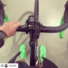 #Repost @charlih with @repostapp. ・・・ good morning  #velotoze #cycling #supacaz #triathlon