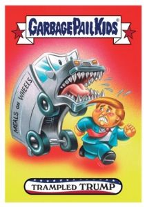 Trading Card Singles Beautiful 2014 Topps Garbage Pail Kids Series 1 Up #2a Make Up Your Own Name Card 0n8