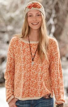 This elegant, cozy and easy-fitting pullover sweater has all the makings of a cool-weather essential.