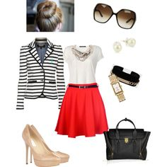 Stripes, created by anniepro on Polyvore