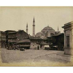 Yıl 1862 ayasofya meydanı