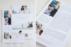 Wedding Welcome Packet: Modern Minimalist Edition Brochure Inspiration, Layout Inspiration, Welcome Packet, Funeral Planning, Brand Fonts, Card Envelopes, Wedding Welcome, Photo Projects, Invitation Design