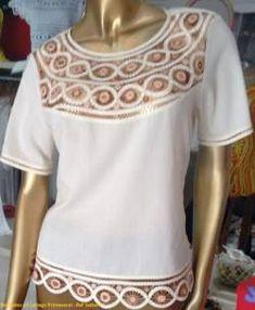 BLUSAS - PRIMAVERAL Bordados y Accesorios Glamour, Blouse, Ideas, Tops, Dresses, Women, Fashion, Dapper Clothing, Block Prints