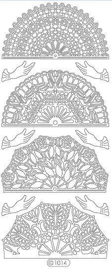 Elizabeth Craft Designs PeelOff Sticker 1014B Fans by PNWCrafts, $1.99