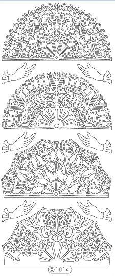 Elizabeth Craft Designs PeelOff Sticker 1014B Fans by PNWCrafts, $1.99