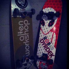 Alien Workshop / Rob Dyrdek Skateboards skateboard skateboarding skate