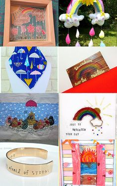 Blame it on the weatherman.. by Emma Webster on Etsy--Pinned with TreasuryPin.com