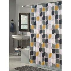 Extra Long Metro Fabric Shower Curtain Walmart Com Yellow Shower Curtains Extra Long Shower Curtain Long Shower Curtains