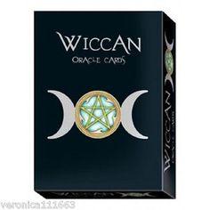 Wiccan Oracle Cards Set NEW Sealed 32 cards 160pg book Wheatherstone Hemhamvibul  | eBay