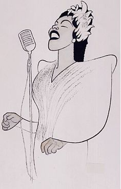 Billie Holiday - I would love to have this print for my house.