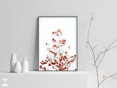 Minimalist Fall Wall Art Print,Autumn Tree Print,Branches Wall Art, | Infinite Art Shop Infinite Art, Minimalist Photography, Modern Wall Decor, Tree Print, Autumn Trees, Large Prints, Printable Art, Wall Art Prints, Art Photography