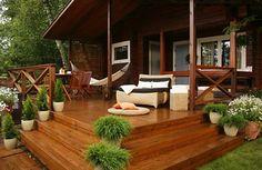 dom drewniany z werandą - Szukaj w Google