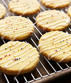 Check out these yummy Lemon Cornmeal Cookies