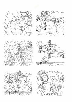 saint martin coloring page | kindersachen herbst | st martin ausmalbild, ausmalbilder und ausmalen