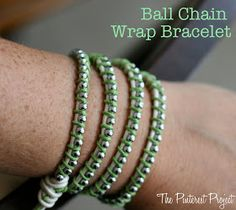 The Pinterest Project: Wrapping a Bracelet