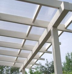 Pergola Rain Covers Stafic Panels