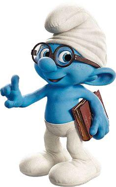 Brainy Smurf from the movie