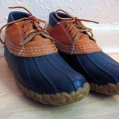 Vintage LL Bean Duck Shoes