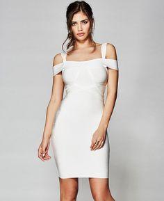 The Ayala Bandage Dress | MARCIANO.com