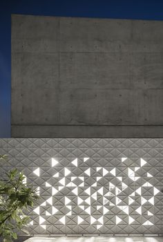 Image 11 of 43 from gallery of House / Pitsou Kedem Architects. Photograph by Amit Geron Futuristic Architecture, Facade Architecture, Chinese Architecture, Wall Cladding Designs, Compound Wall Design, Pitsou Kedem, Metal Facade, Boundary Walls, Facade Lighting