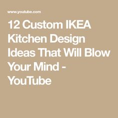 Want To Create A Custom Kitchen Without The Price Tag? Well a good alternative is to bling up an IKEA kitchen instead, so we use the IKEA framework and custo. Diy Kitchen Cabinets, Kitchen Units, Remodeling Costs, Ikea Kitchen Design, Blow Your Mind, The Creator, Custom Design, Mindfulness, Design Ideas